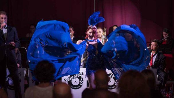 koncert BRATISLAVA BURLESQUE a SWINGLESS JAZZ ENSEMBLE