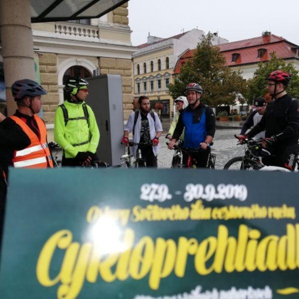 Cykloprehliadka Nitra na siedmich pahorkoch