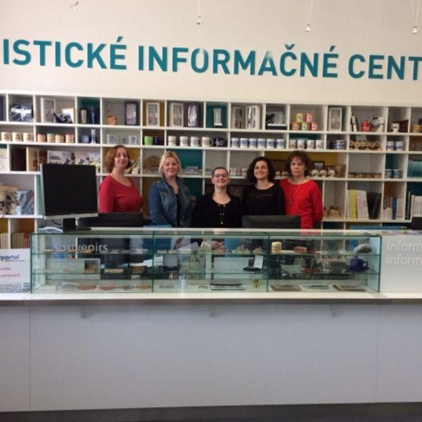Tím Turistického informačného centra Nitra