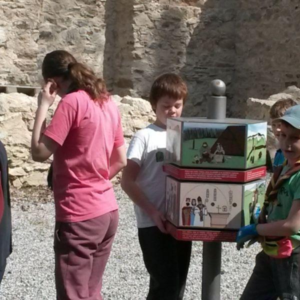 Brigáda na Zoborskom kláštore