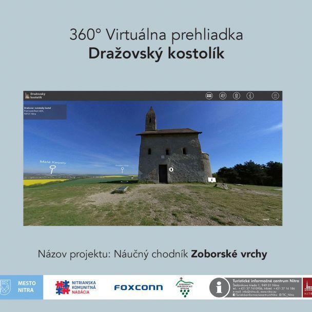 Dražovský kostolík -  virtuálna prehliadka