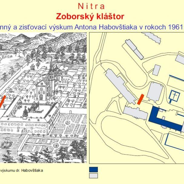 Archeologický výskum Zoborského kláštora v rokoch 1961–1962