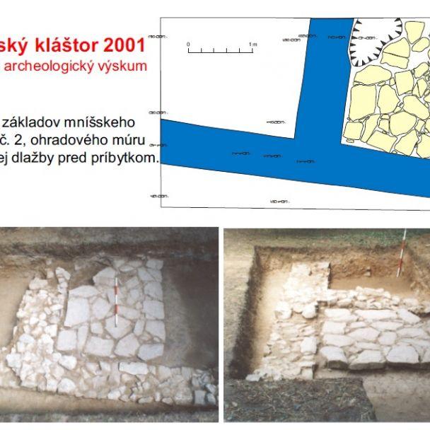Archeologický výskum Zoborského kláštora v rokoch 2001–2003