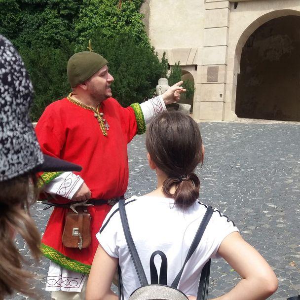 Stretnutie s Veľkou Moravou - knieža Slavobor