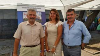 Delegácia Nitry na Slovenských národných slávnostiach v Báčskom Petrovci