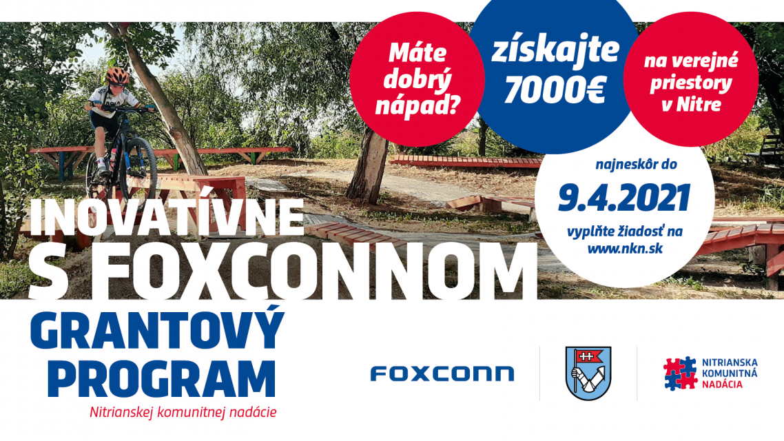 Grantový program INOVATÍVNE S FOXCONNOM 2021