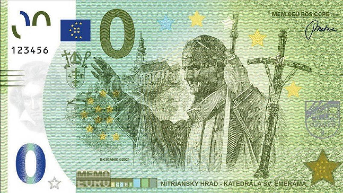 2 nové motívy Memoeuro bankoviek
