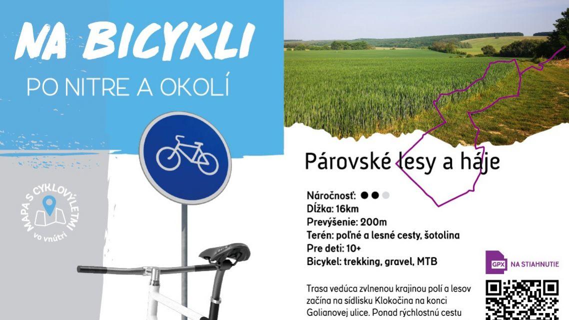 Spríjemnite si jeseň tipmi na potulky bicyklom po Nitre a okolí