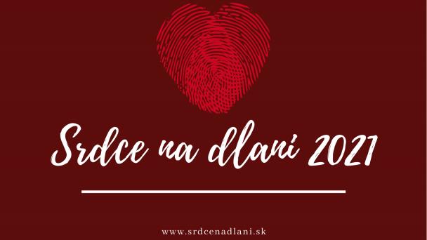Odštartovanie nominačného procesu k oceneniu Srdce na dlani 2021